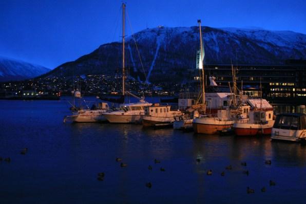Port de Tromsø, décembre 2010