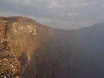 Sur les flancs abrupts du volcan Telica, Nicaragua