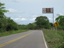 En el camino de Palenque, Bolivar