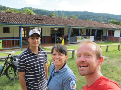 Bons moments passés avec Maria (Parques nacionales de Colombia) et Cristian (AC. Yarumo blanco)