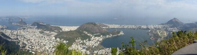 Rio depuis le Christ