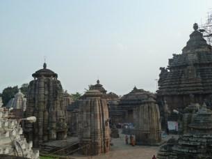 Le temple principal de Bhubaneshwar, le Lingaraj Mandir