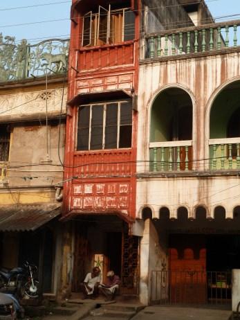 Des maisons du centre historique