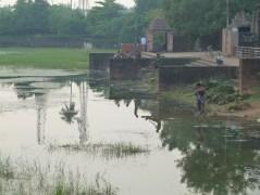 Pêcheurs dans le centre de Bhubaneshwar