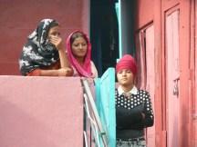 Spectateurs sikhs