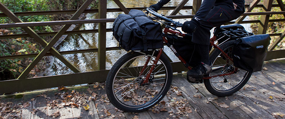 Dirt Road Expedition Bicycle  World Touring Troll Bike