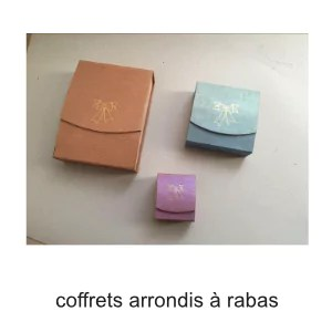 coffret arrondis rabas