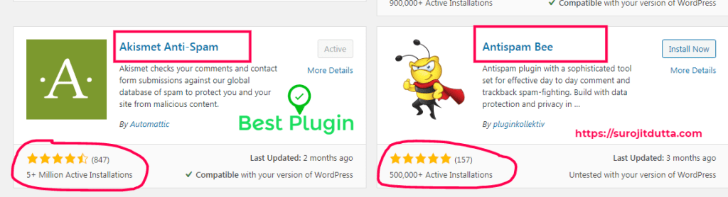 Best WordPress Plugins For Spam Protections