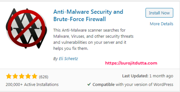 Anti-Malware for WordPress Security Plugins