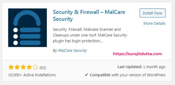 Malcare WordPress Security Plugins