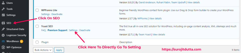 Yoast Plugins Setup Guide 1