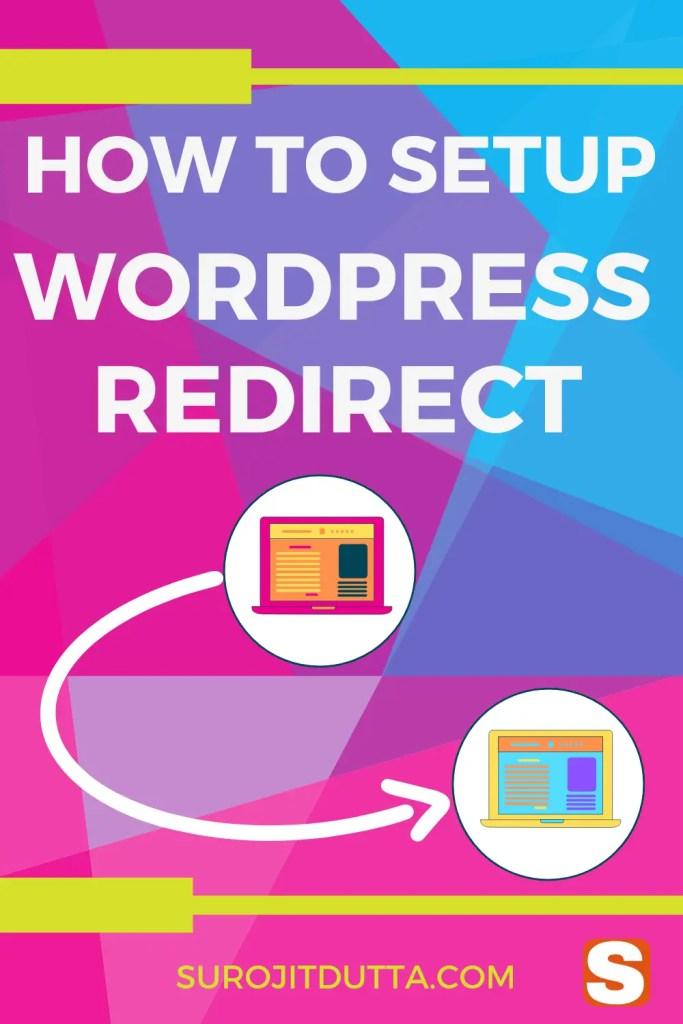 How To Setup WordPress Redirect