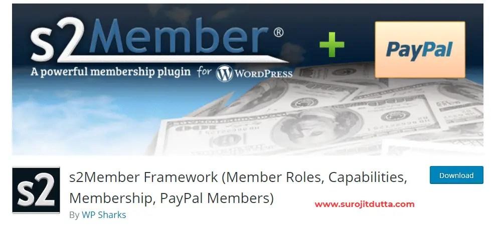 S2 member - WordPress Membership Plugins