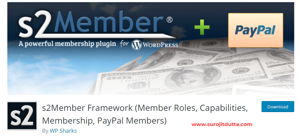 S2 member - WordPress Membership Plugins