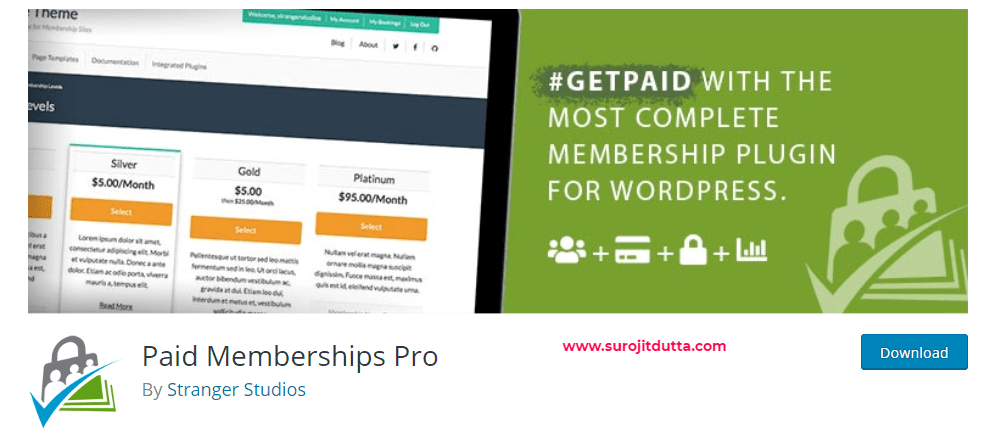 Wordpress Membership Plugins