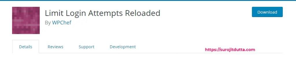 Limit log in attempts reloaded Best Plugin For WordPress