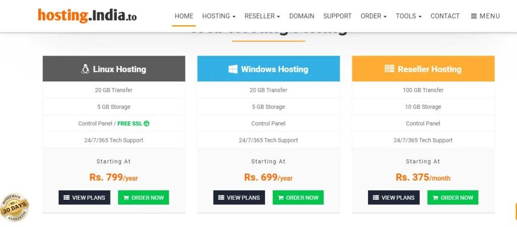 hosting India Web Hosting Company