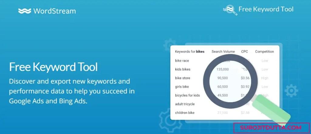 WordStream- Free Keyword Research tools