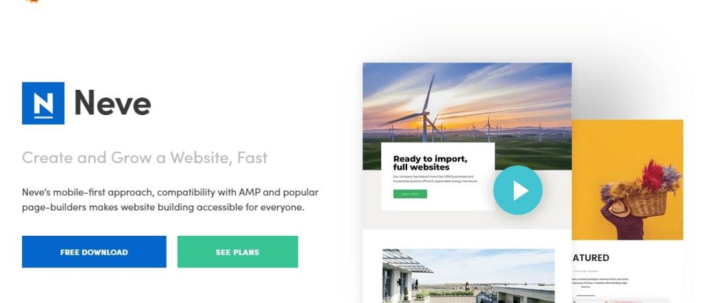 Neve Free WordPress Themes