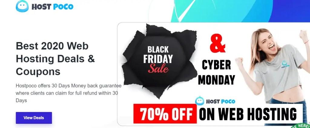 Hostpoco Black Friday Deals 2020
