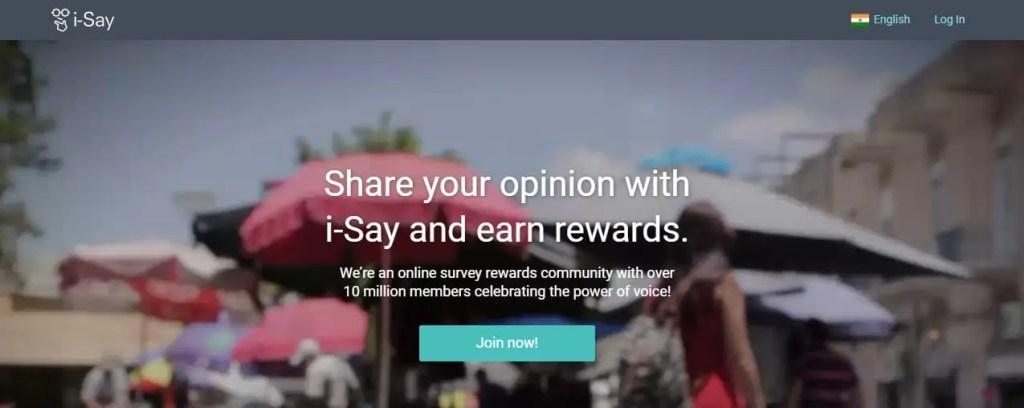 I-Survey- Online Surveys That Pay Cash And Rewards
