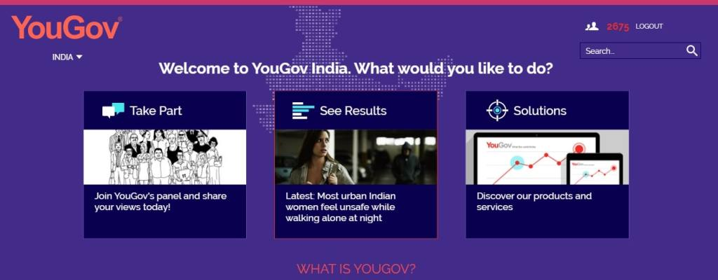 Yougov- Online Surveys That Pay Cash Online
