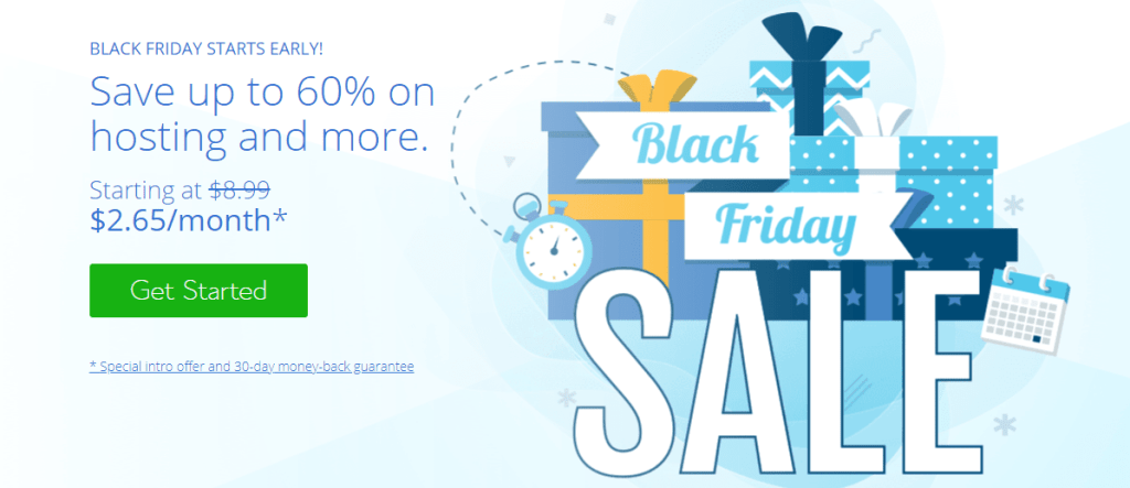 Bluehost- Black Friday Deals 2020 And Great Offers