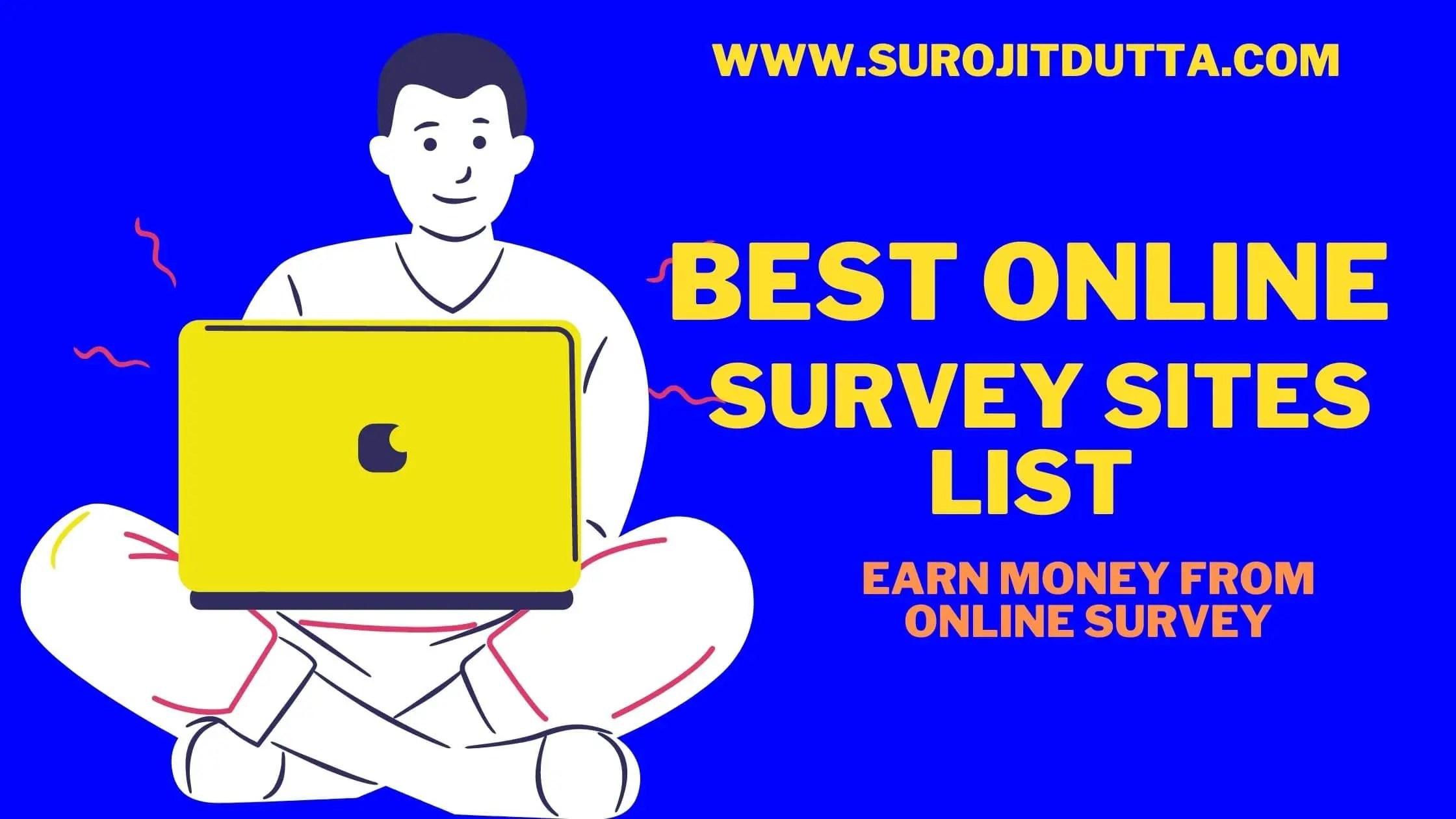 Best Online Surveys That PAy Cash Online