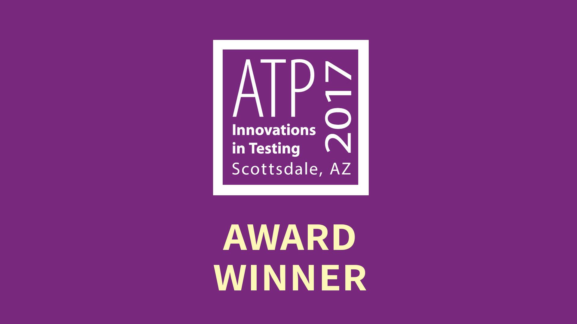 ATP 2017 Innovations in Testing - Award Winner Surpass