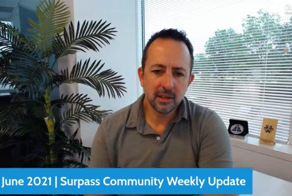 Surpass Community Weekly Update - 4th June 2021