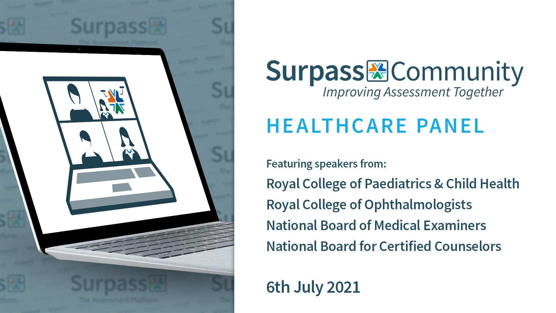 Surpass Community Webinar -Surpass Assessment for Healthcare
