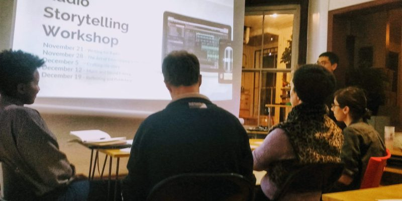 Click here to see the workshops offered in the Practical Media Training. We love to share our passion and skills with our community in these workshops. But most of all, we're excited to see and hear what you'll create!