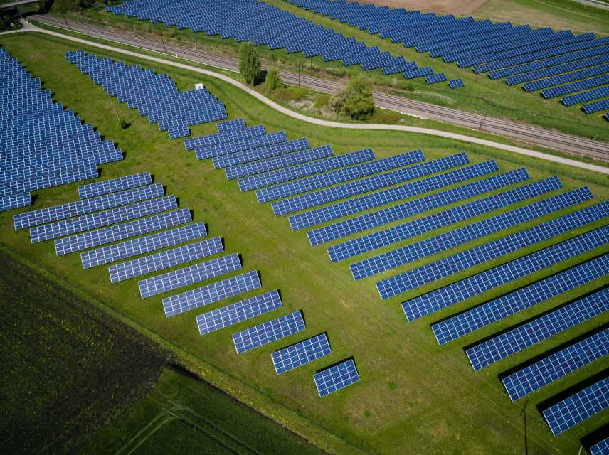 solar farm for energy efficiency benefits post