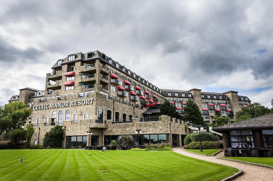 photograph of the Celtic Manor Resort