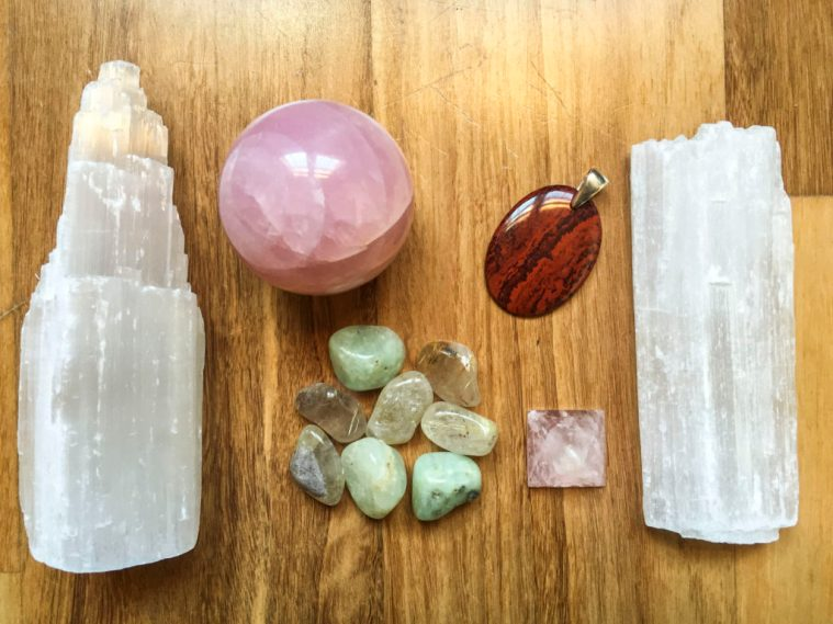 Crystals for healers and healthcare practitioners