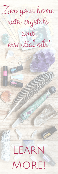Zen your home with crystals and essential oils with Melanie Surplice