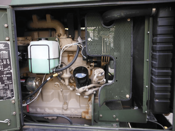 30KW MEP805A Diesel Military EMP Proof Tactical Quiet