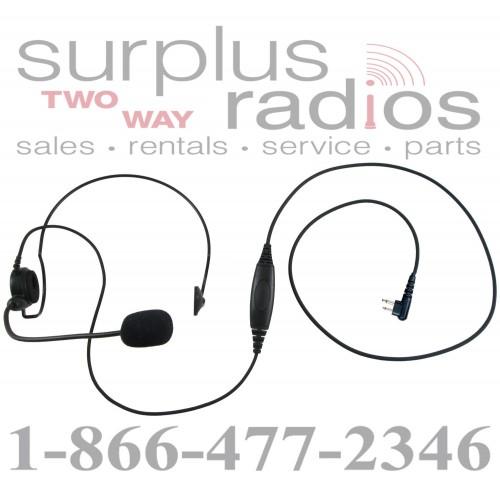 Single ear headset E395 M1 with push to talk for Motorola
