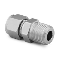 SS-1610-1-16 Swagelok Tube Fitting, Male Connector, 1 in ...