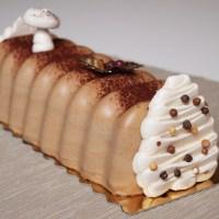 Bûche de Noël #4 : praliné, caramel et spéculoos