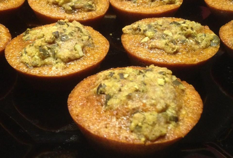 delicious Halloween pumpkin muffins