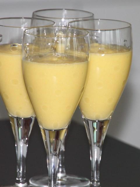 mango coconut milk cream
