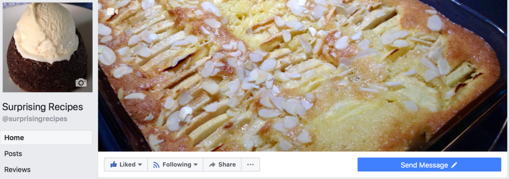 Facebook surprising recipes