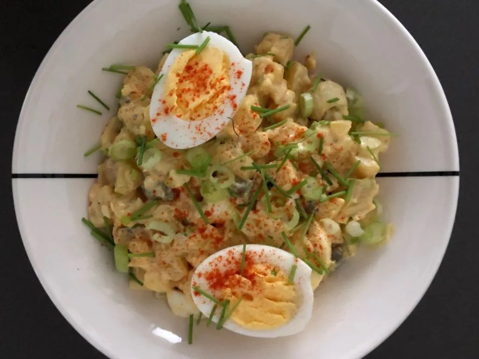 potato-egg salad