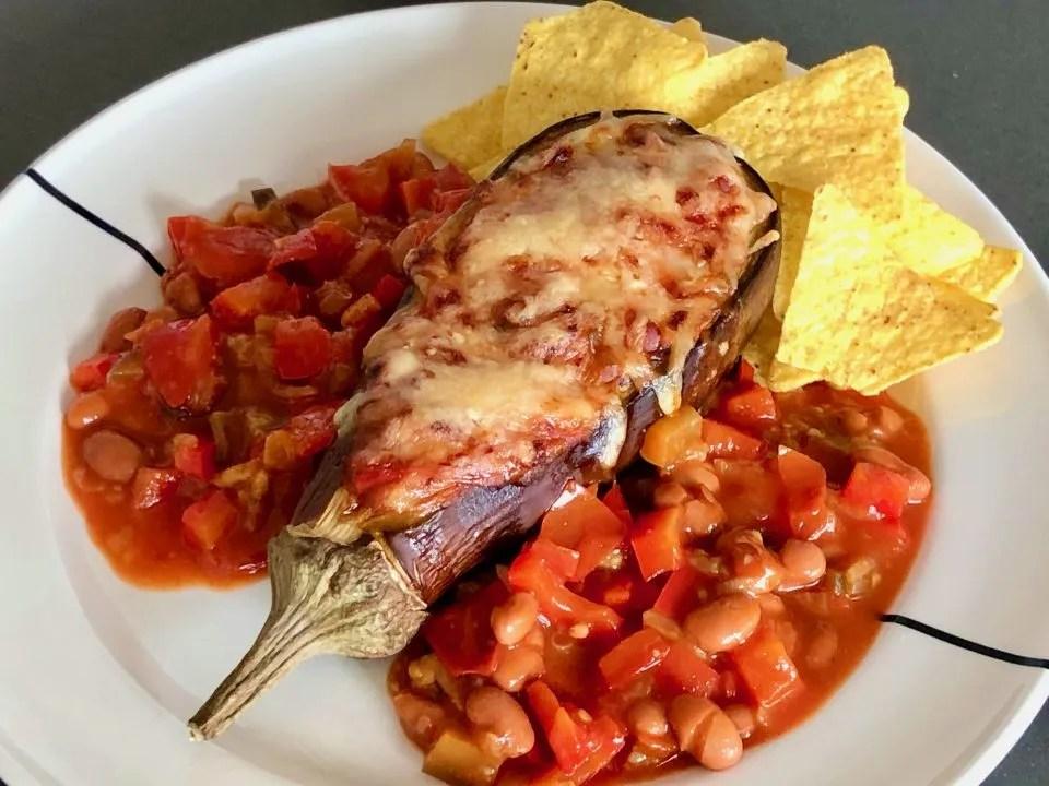 eggplant con chili
