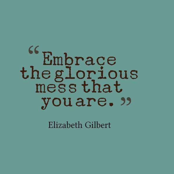 Embrace Yourself ~ Quote