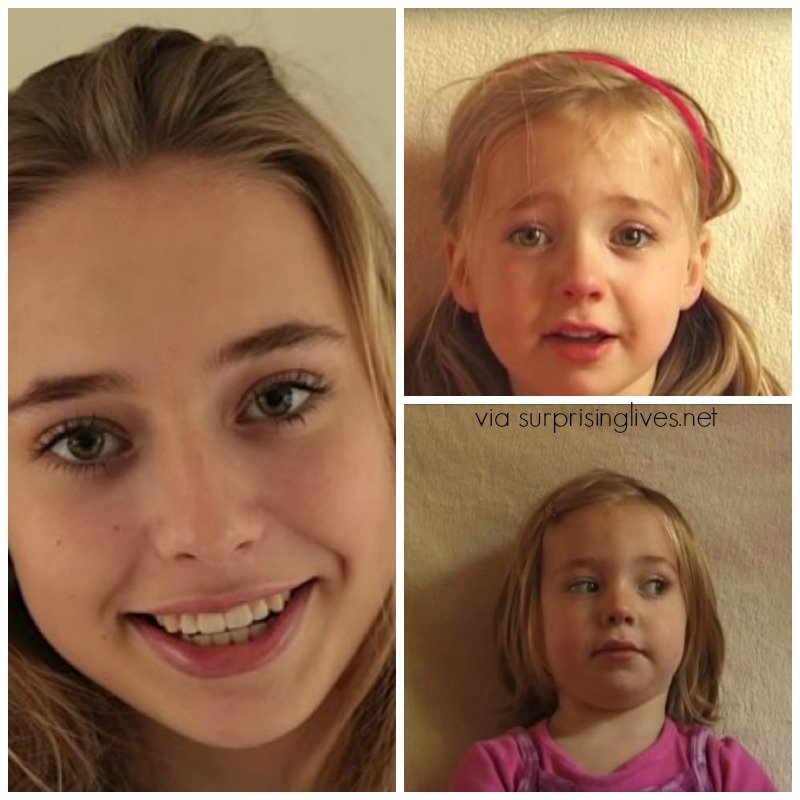 Lotte Hofmeester: Birth-16 Years On Updated Time-Lapse Video