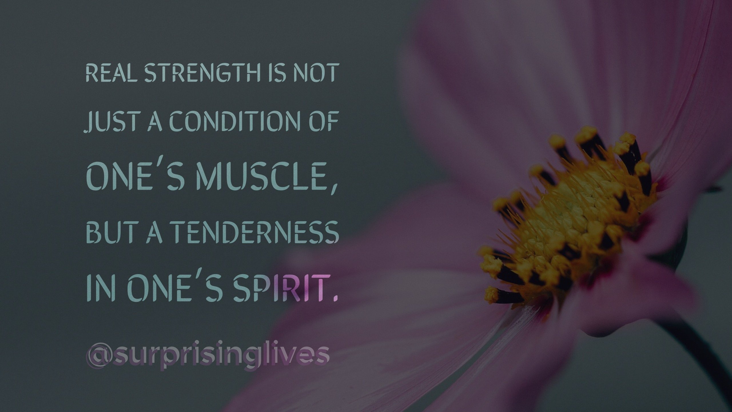 Your Real Strength – Quote