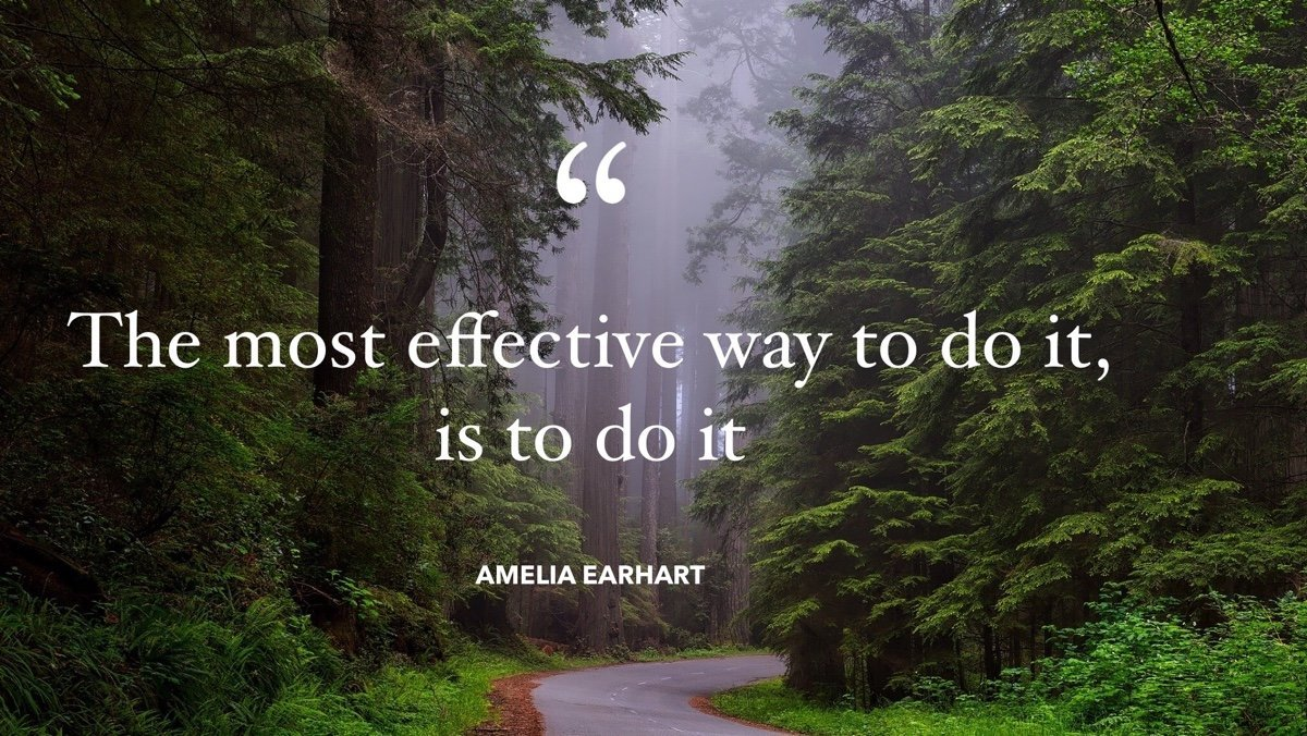 effective way to do it quote