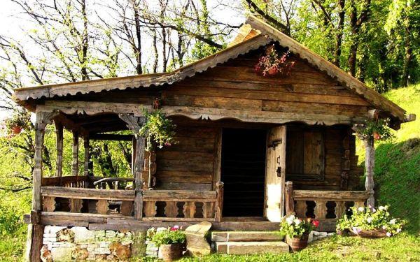 Danut Hotea si casele din lemn vechi